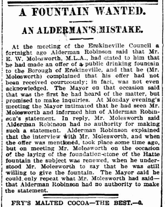 Aldermans Mistake
