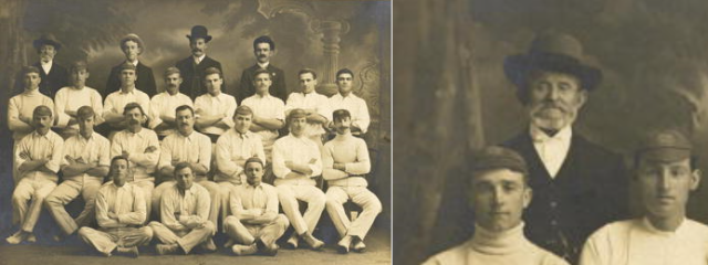 John Loaney Newtown Cricket Club 1907-08.png