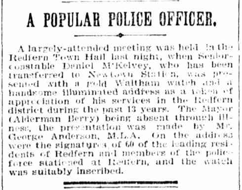 redfern-police-a-popular-officer