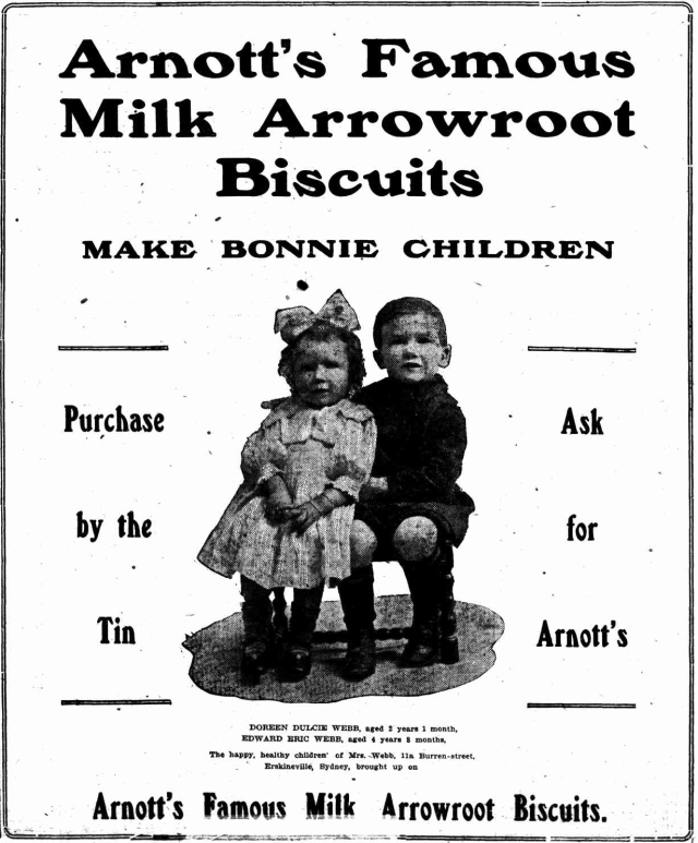 Arnotts famous milk arrowroot biscuits erskineville.png