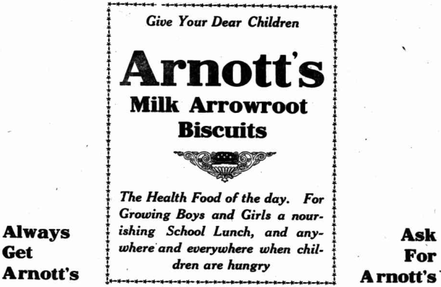 Arnott's Milk Arrowroot Biscuits