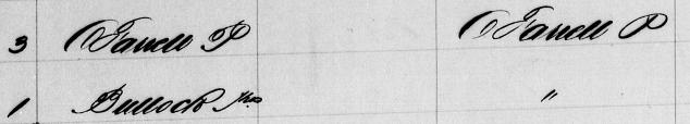 Macdonaldtown Assessment Book Extract 1891