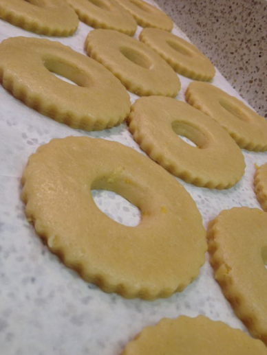 Lemon Rings Biscuits