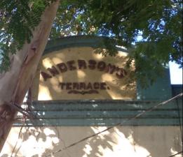 Andersons Terrace Park Street Erskineville - parapet