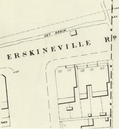 Erskineville Road Toll Bar detail
