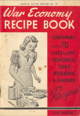 War Economy Recipe Book Title Page