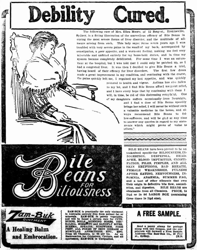 Bile Beans Erskineville 1903