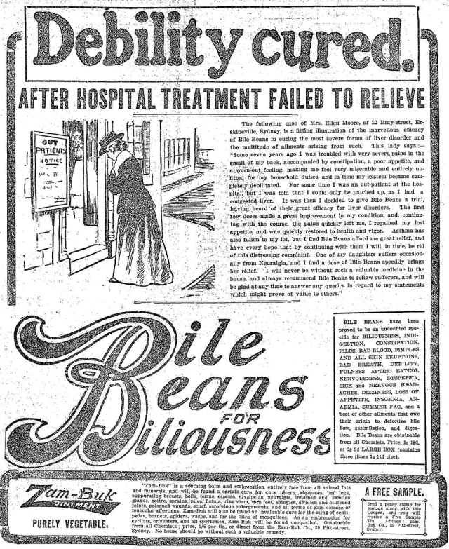 Bile Beans for Biliousness Erskineville 1903.png