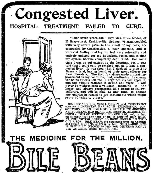 Congested Liver Bile Beans Erskineville 1904.png