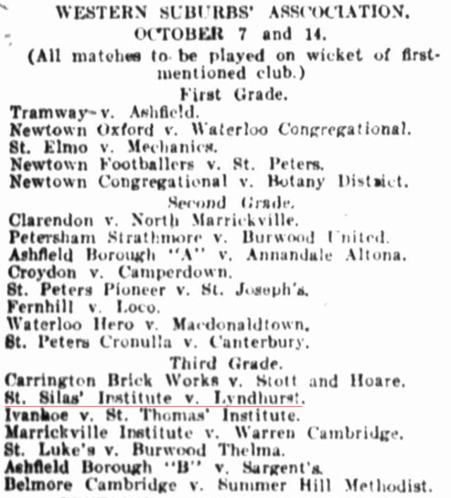 Western Suburbs' Association Cricket 1905.png