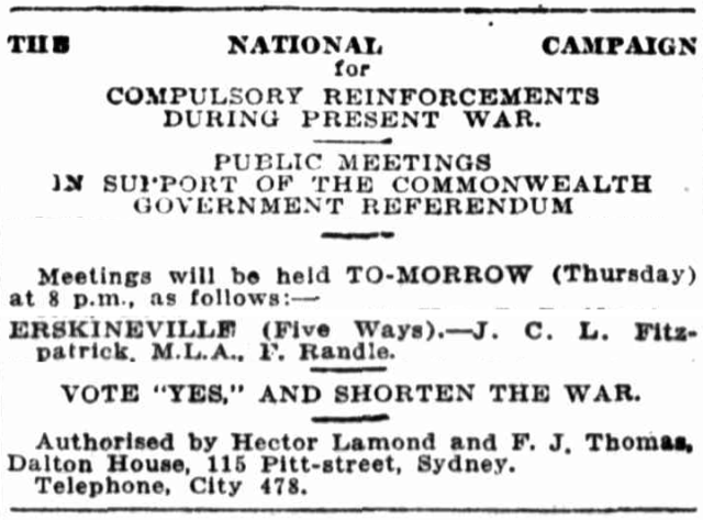 Erskineville Five Ways 1916.png